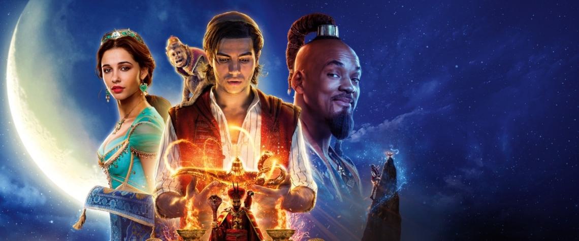 Live-action de Aladdin está em cartaz desde a última quinta-feira, 23