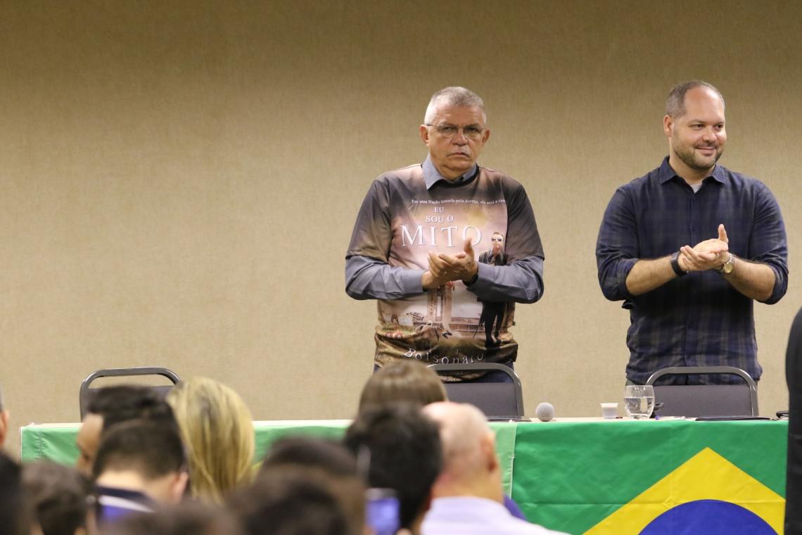 ANTES aliados, Cavalcante e Heitor racharam dentro do PSL no Ceará