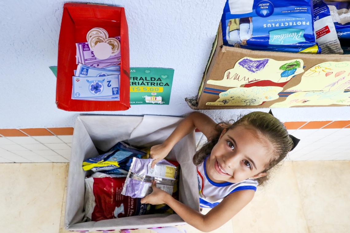 CASA DE CRIANÇA: pais fazem doações em troca