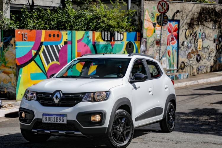 Kwid é o carro mais vendido da marca no Brasil (Foto: RODOLFO BUHRER/divulgação Renault)