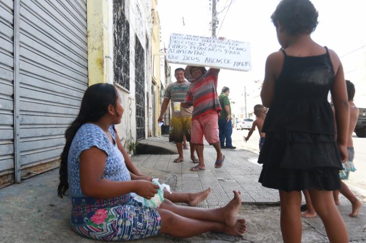 Imigrantes venezuelanos chegaram na Capital  em busca de melhores condições de vida.