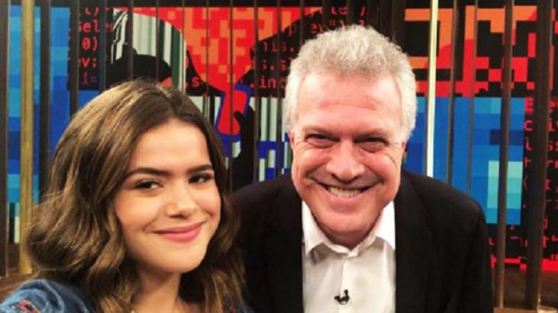 Globo voltou atrás de liberou Pedro Bial para participar de programa de Maisa Silva.