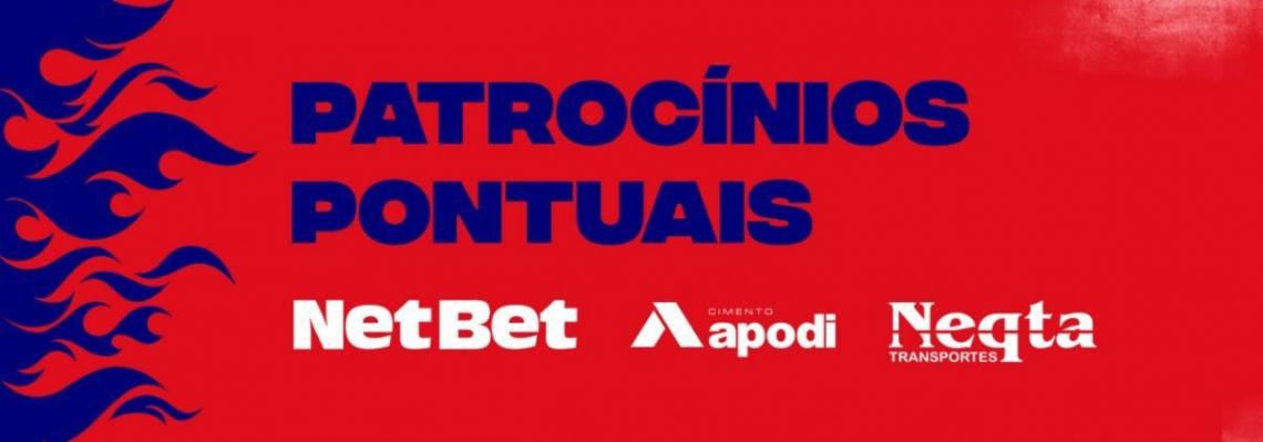 NetBet, Apodi e Neqta patrocinarão o Fortaleza contra o Botafogo-PB e contra o Vasco.
