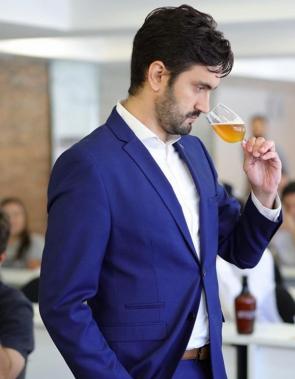 Jayro Pinto Neto, vencedor do 5º Campeonato Brasileiro de Sommelier de Cerveja