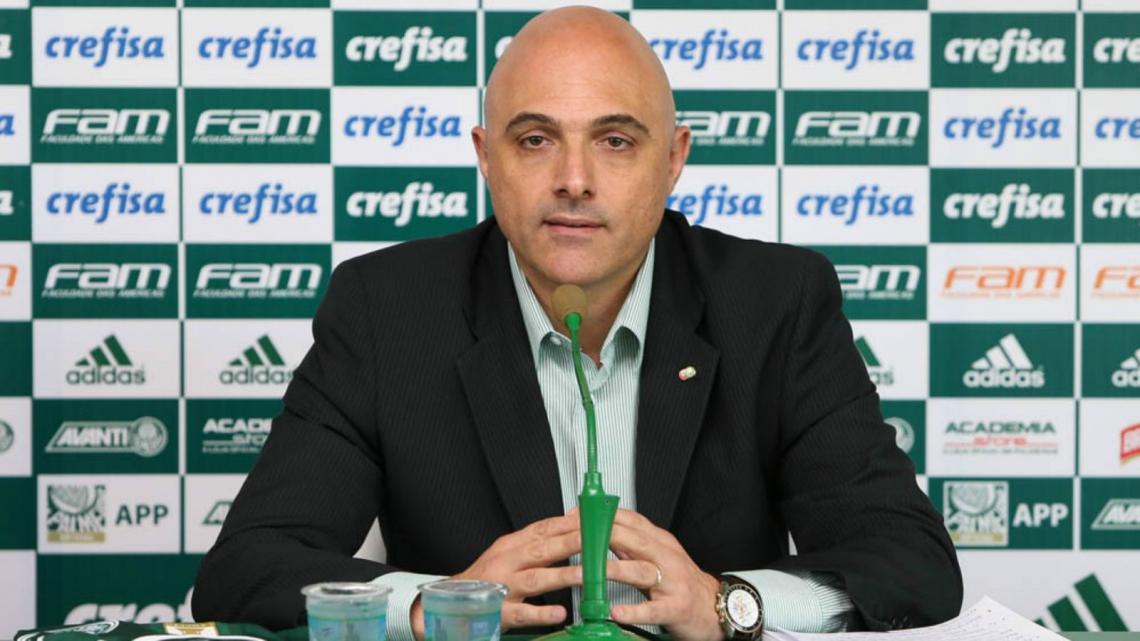 Presidente do Palmeiras, Maurício Galiotte lançou nota em nome do clube para falar do caso