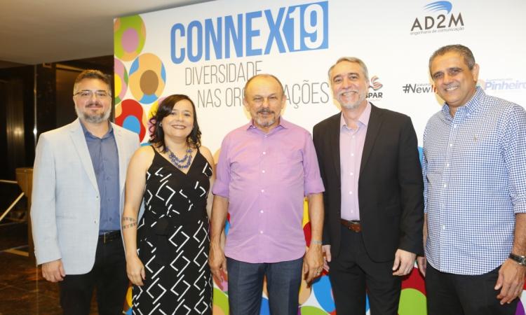 Apolônio Aguiar, Djane Nogueira, Honório Pinheiro, Mauro Costa e André Verçosa