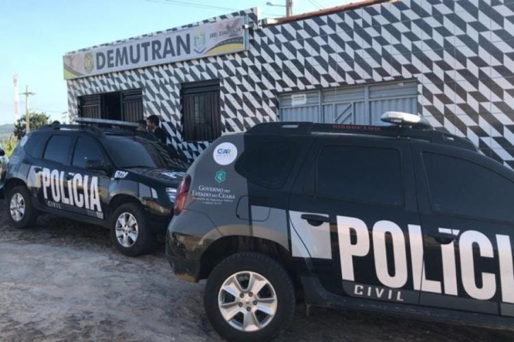 Operação é comandada pela Polícia Civil