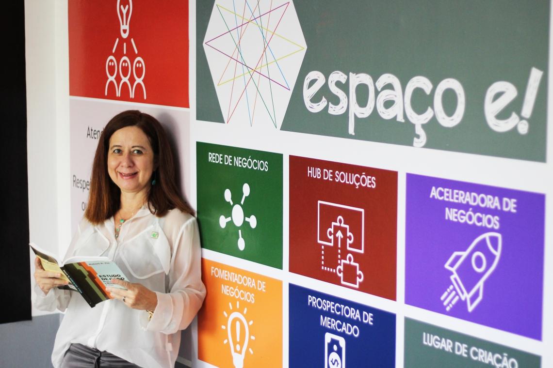 FORTALEZA, CE, BRASIL. 23-05-2019: Empregos e Carreiras - Silvana Fujita, personagem que trabalha com networking e coworking. (Fotos: Deísa Garcêz/Especial para O Povo)