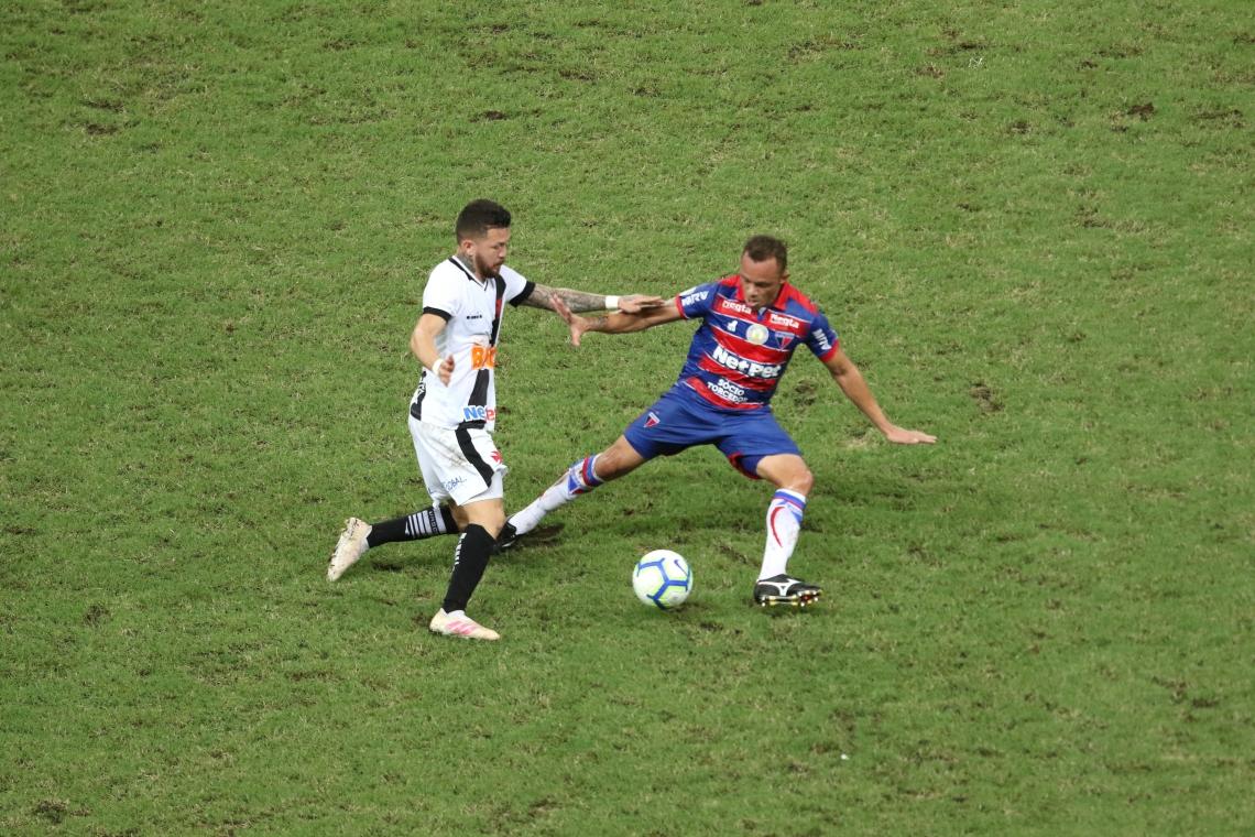 JOGANDO em casa, o Fortaleza perdeu dois pontos diante do lanterna Vasco da Gama
