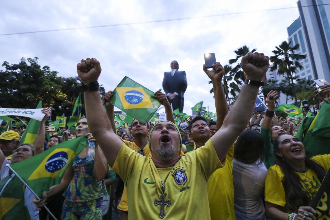 Camisas da seleção brasileira deram o tom, mais uma vez