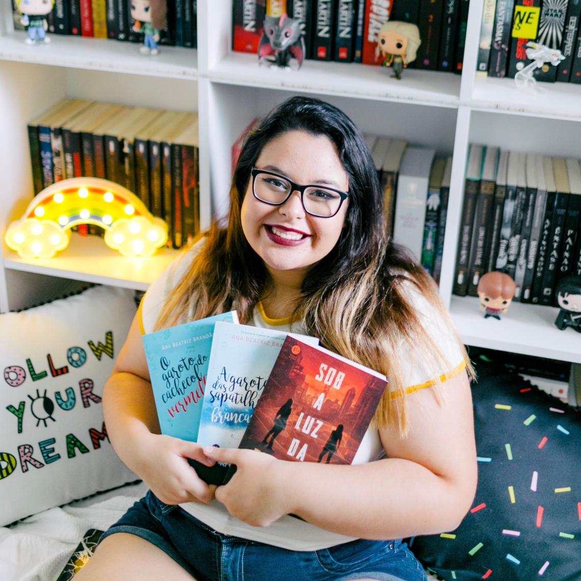 Ana Beatriz Brandão terá seus livros adaptados para o cinema