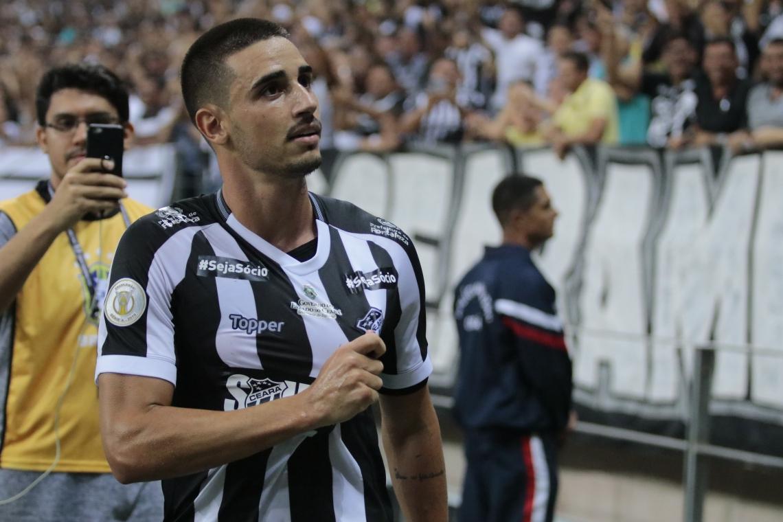 Thiago Galhardo tem sido decisivo nas finalizações do Ceará