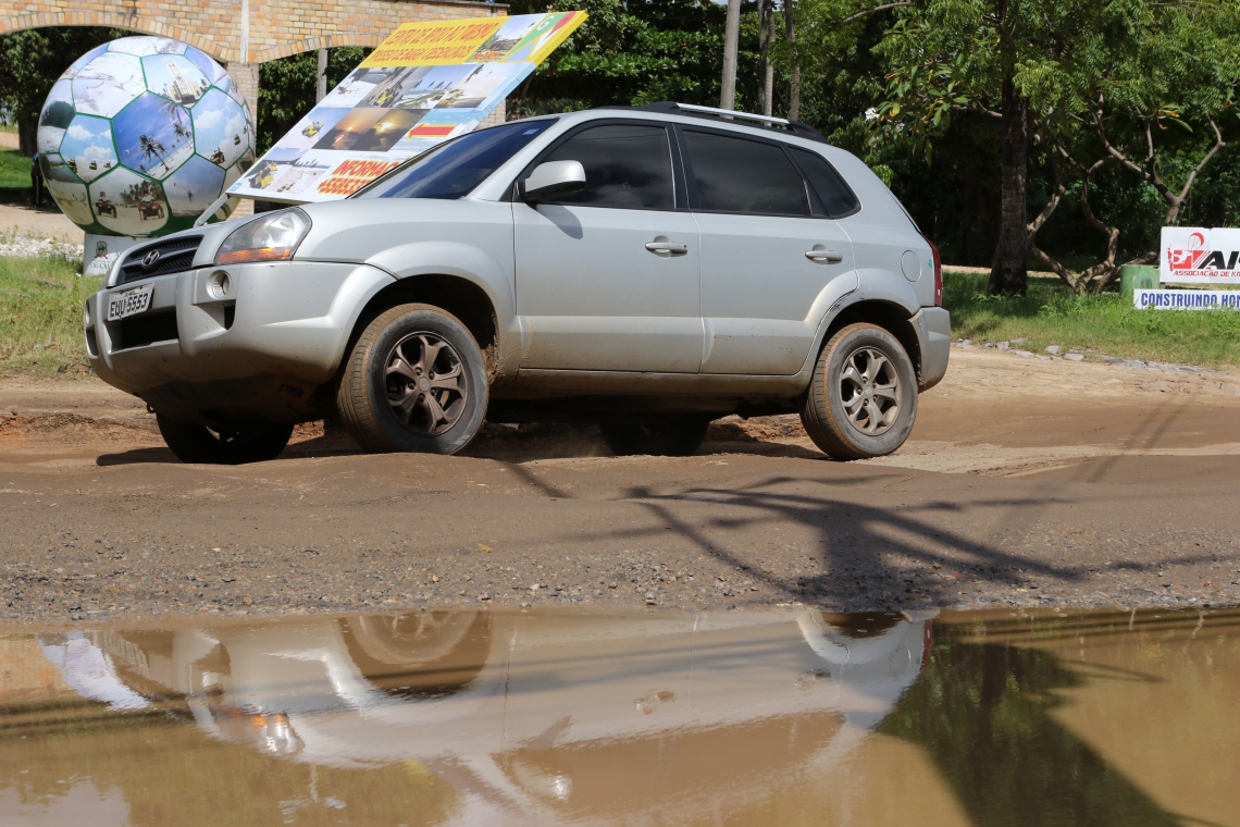 LAMA cobre alguns buracos, aumentando o risco para os motoristas que não conhecem a região