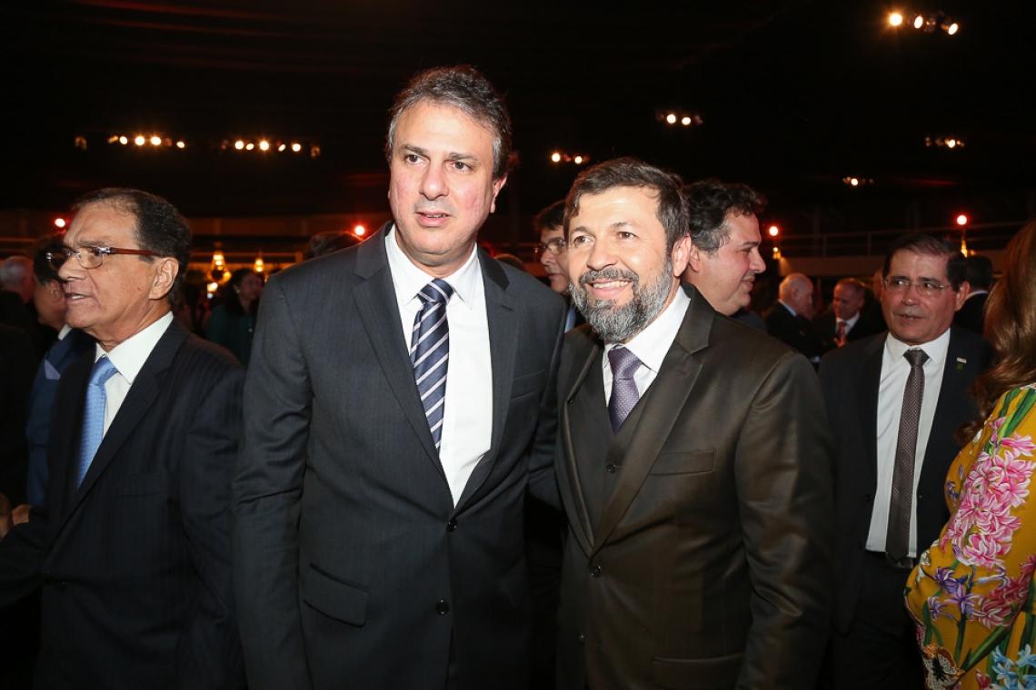 Camilo Santana e Élcio Batista