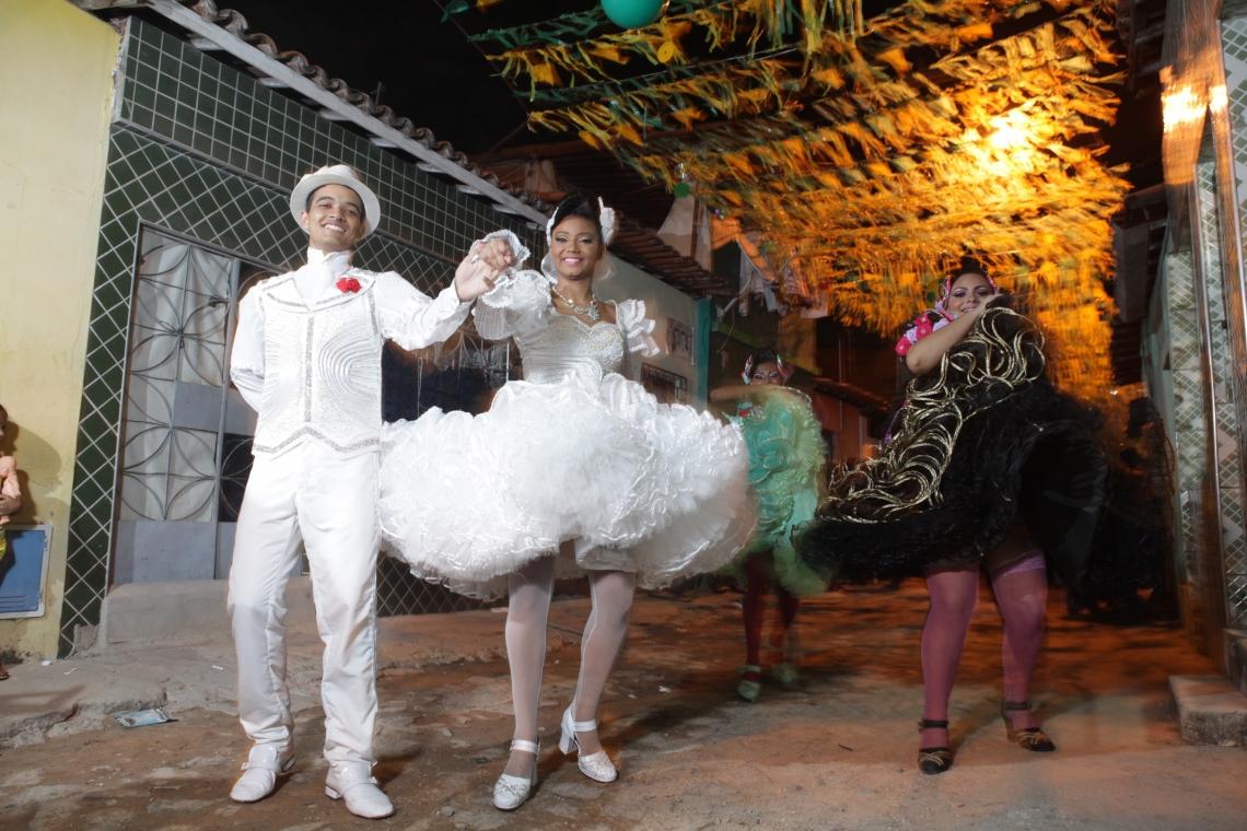 As festas se espalham por diversos bairros de Fortaleza até o mês de julho