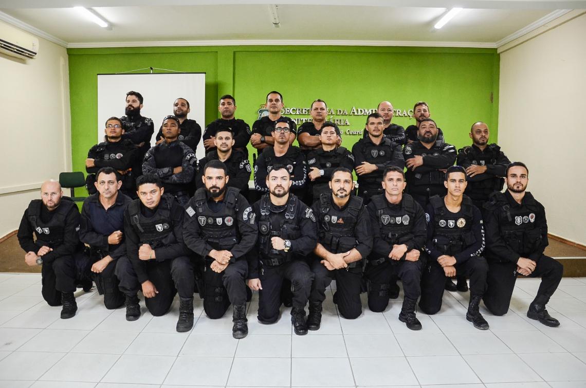 Os agentes cearenses seguem hoje para o Amazonas