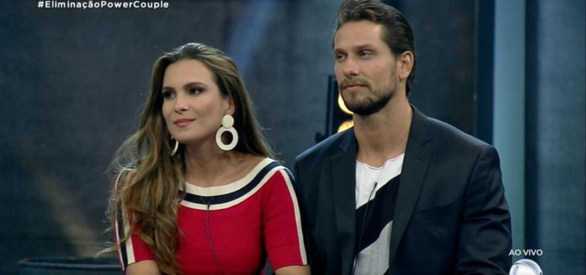 Eliéser Ambrósio e Kamilla Salgado são eliminados do Power Couple Brasil 4.