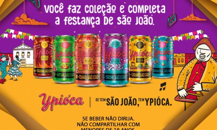 Ypióca lança seis novas latas colecionáveis para o período junino