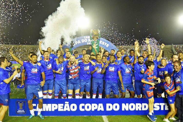 Fortaleza foi o campeão da Copa Nordeste 2019