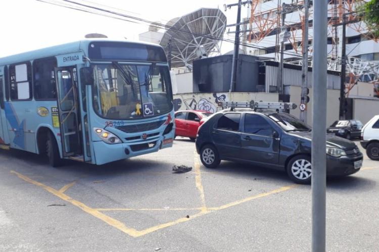 O POVO apurou que o acidente teria ocorrido por volta das 12h30min