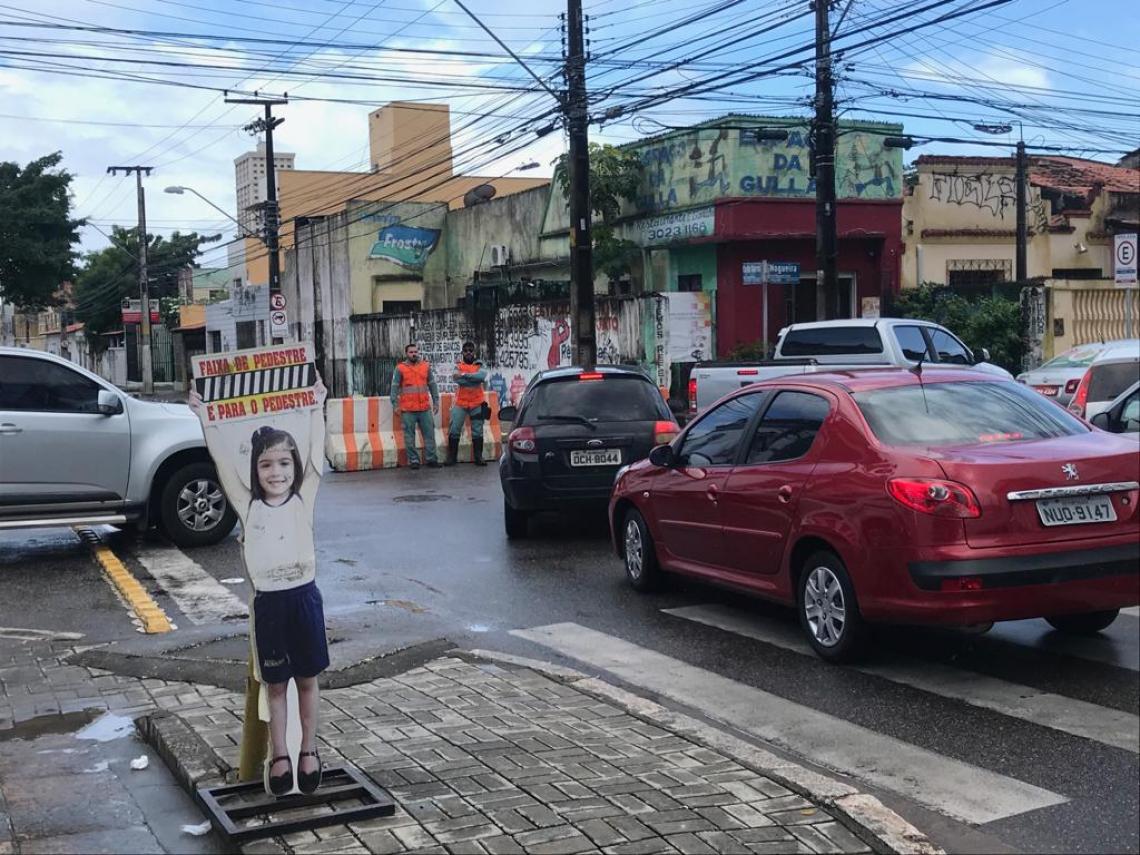 Trânsito na região ficou engarrafado