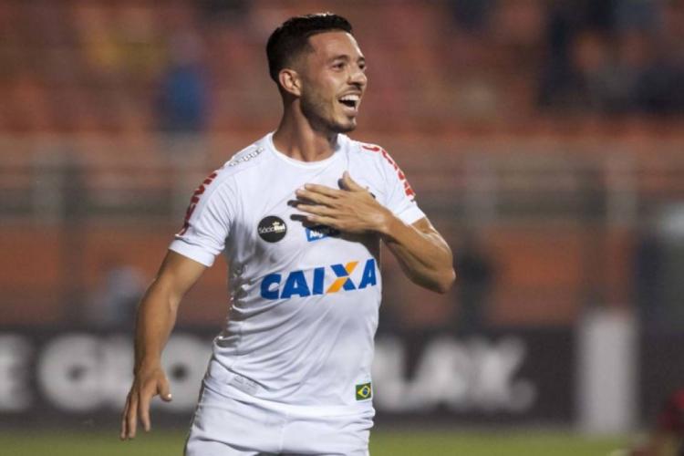 Jean Mota jogou pelo Fortaleza em 2016 antes de se transferir para o Santos  (Foto: Divulgação/Santos)