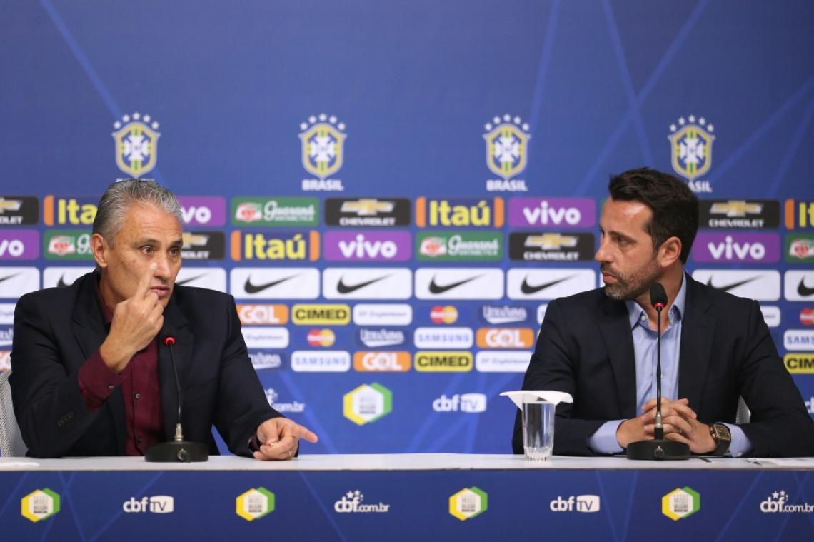 Edu Gaspar e Tite estão concentrados para a Copa América