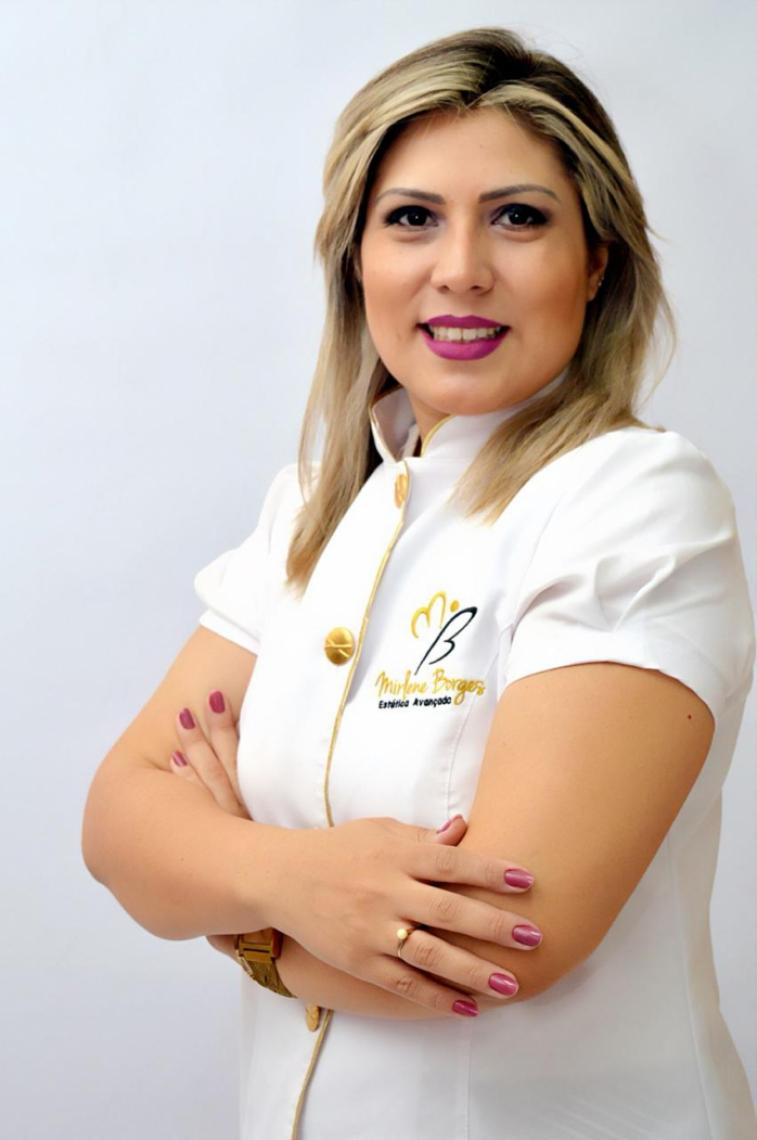 Fisioterapeuta dermato-funcional Mirlene Borges