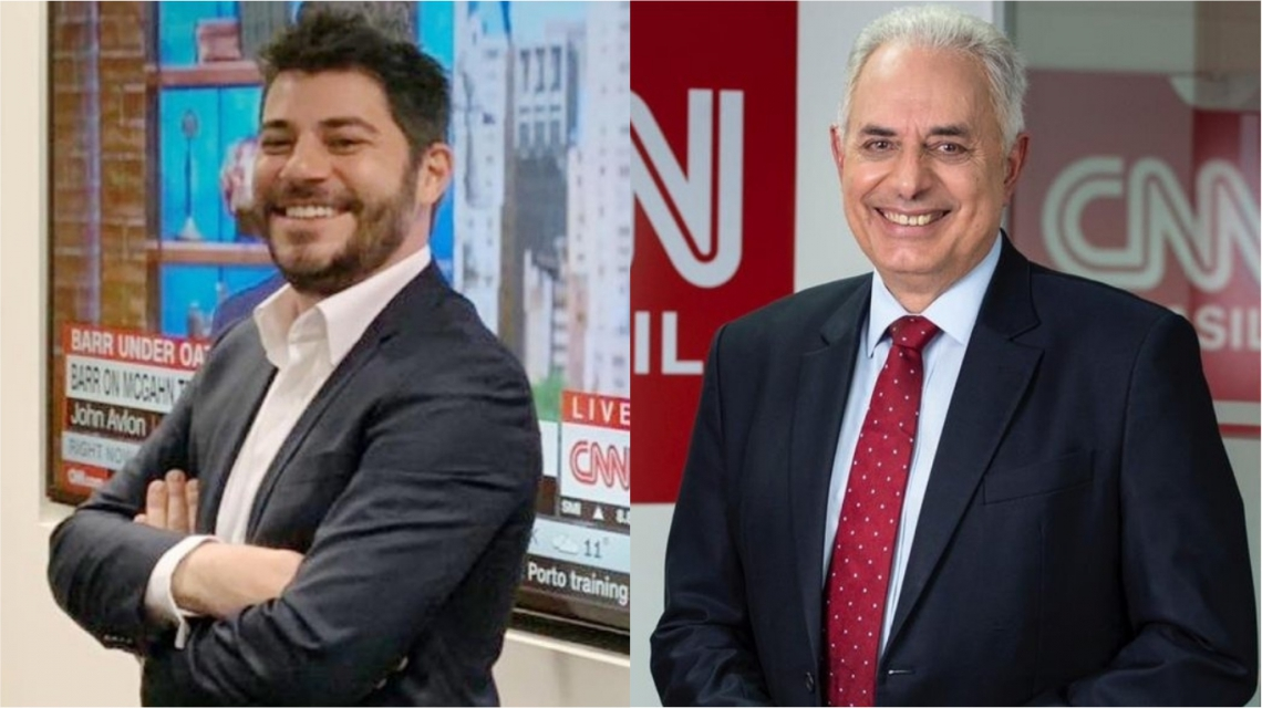 Evaristo Costa e William Waack fecham contrato com a CNN Brasil.