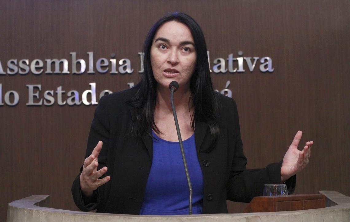 """Sessão foi suspensa depois que deputada Dr. Silvana (PR) solicitou verificação da presença dos parlamentares: """"A minha intenção é realmente atrasar a votação""""  (Foto: Paulo Rocha/ (AL-CE))"""