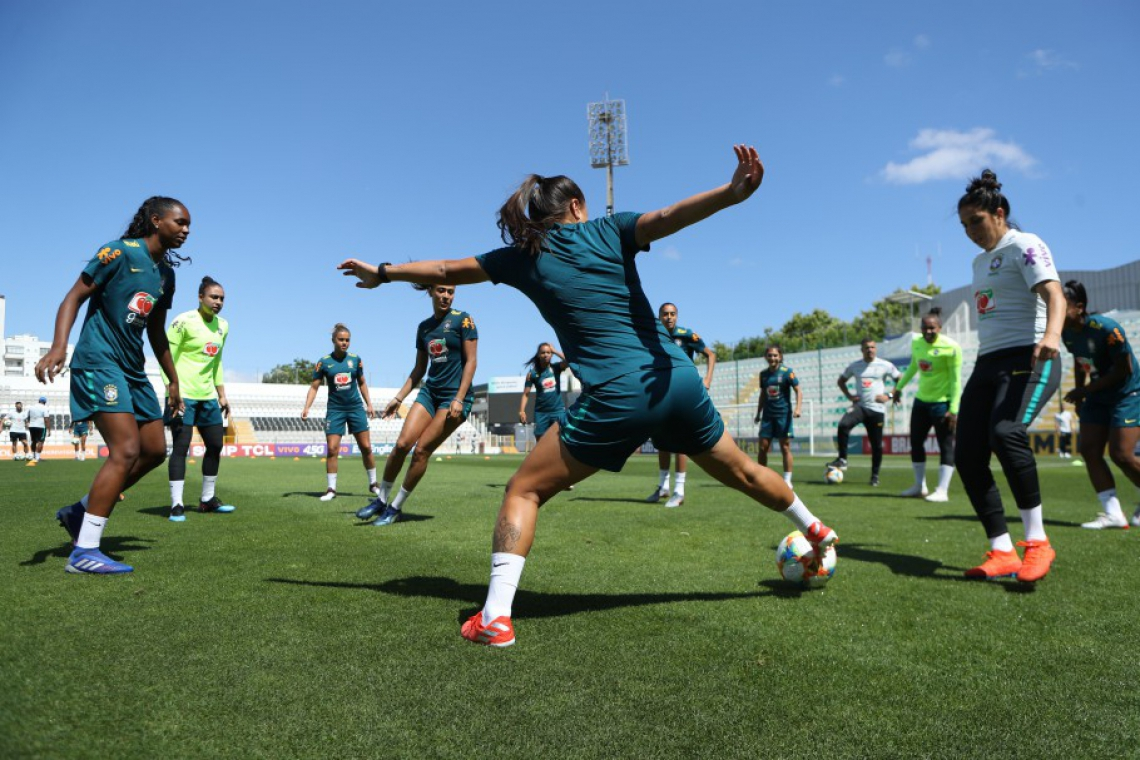 Confira os jogos do Brasil na Copa do Mundo feminina.