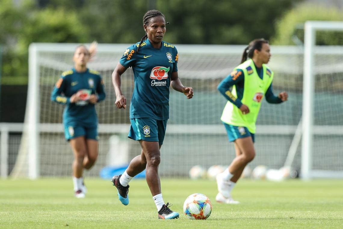 Neste Mundial, Formiga se tornará a primeira atleta — feminino ou masculino — a jogar sete Copas do Mundo de futebol