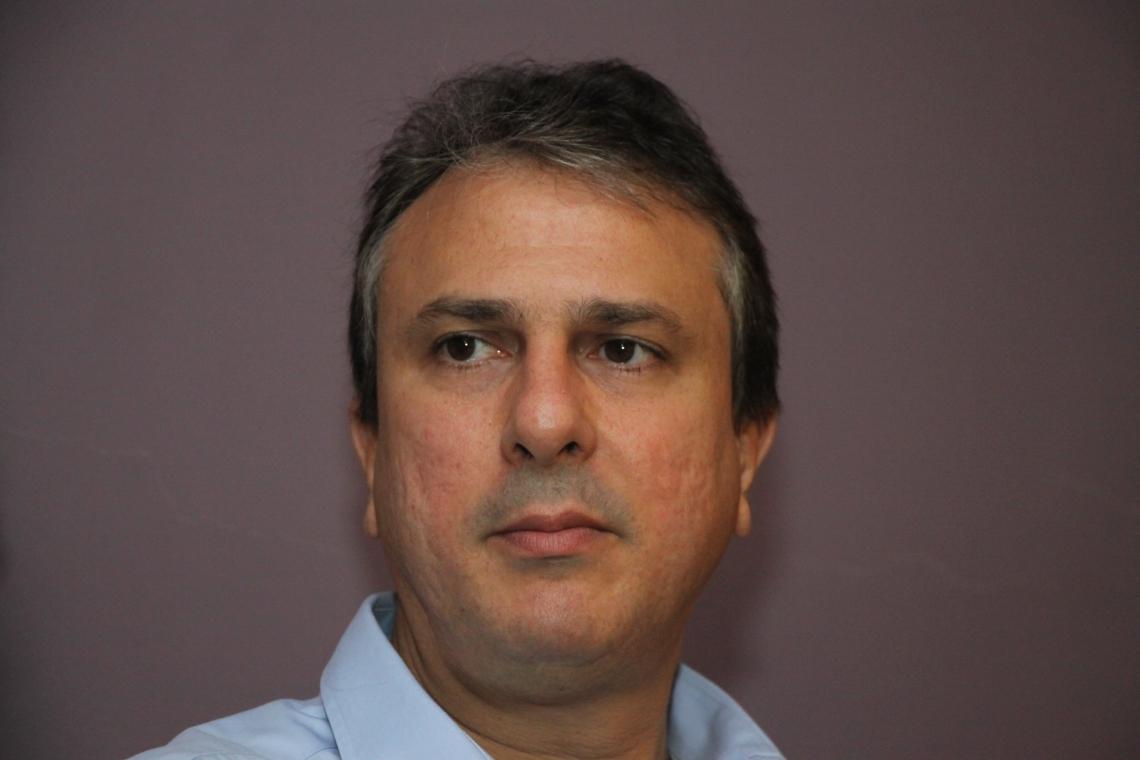 GOVERNADOR Camilo Santana (PT) (Foto: Mauri Melo/O POVO).