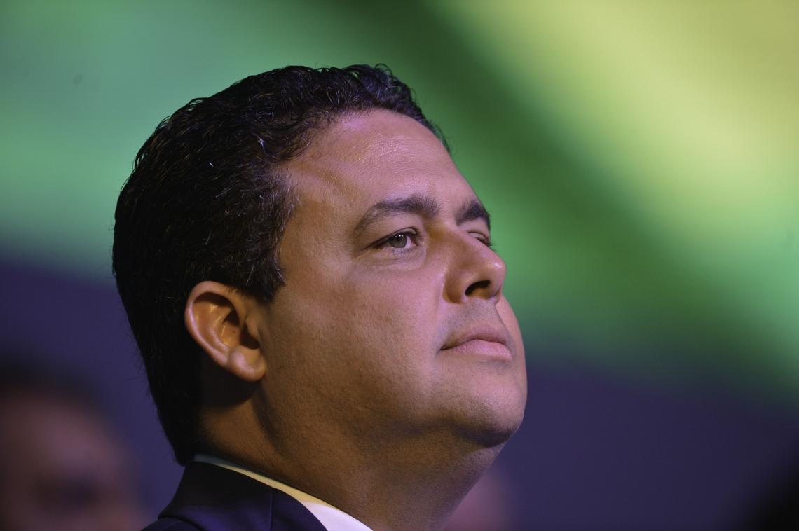 O novo presidente da Ordem dos Advogados do Brasil (OAB), Felipe Santa Cruz, durante cerimônia de posse.
