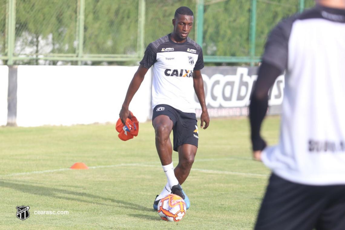 Volante foi escalado em sete partidas na Série A do Brasileiro pelo Ceará