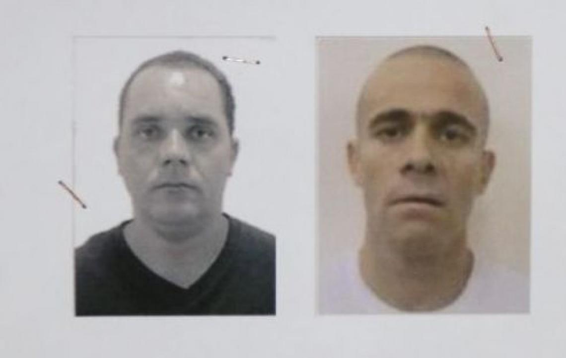 Fabiano Alves de Souza, o Paca e Rogério Jeremias, o Gegê do Mangue, líderes do PCC mortos em Jenipapo Kanindé, em Aquiraz