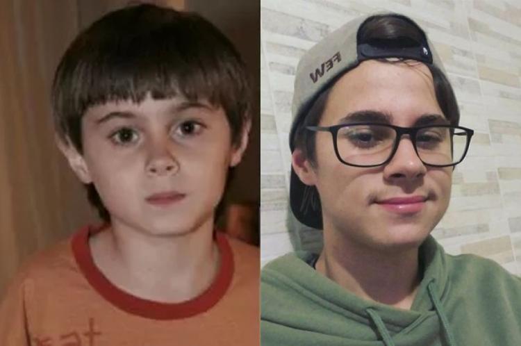 Rafael começou ainda criança na televisão. Ele tinha 22 anos