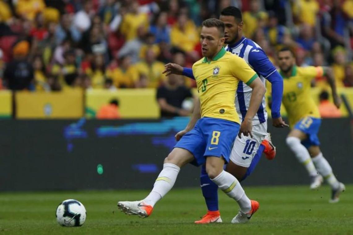 Seleção domina rival em amistoso de preparação para a Copa América