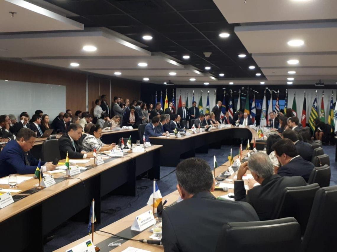 Governadores se reúnem em Brasília