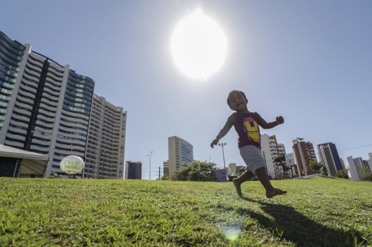 Ceará não está sob influência de nenhum sistema indutor de chuvas, segundo a Funceme