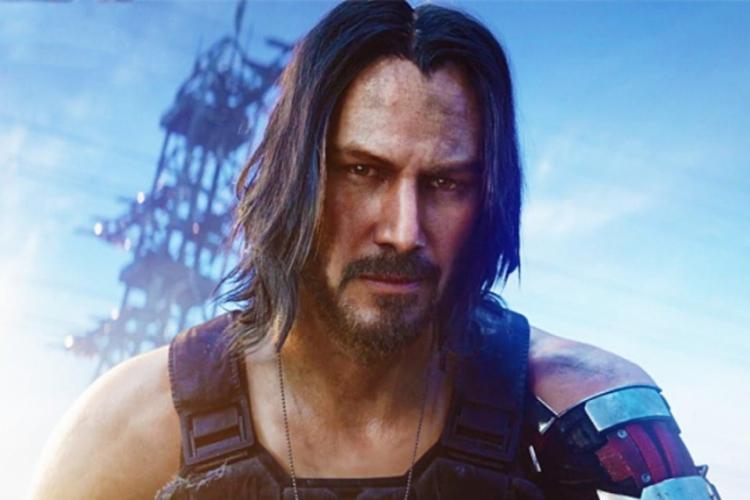 Presença do ator Keanu Reeves no game Cyberpunk 2077 foi grande surpresa do evento (Foto: Divulgação)