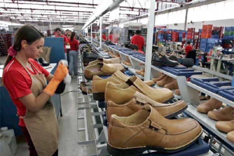 Atividades relacionados a fabricação de calçados contribuíram para o desempenho positivo no setor industrial cearense.