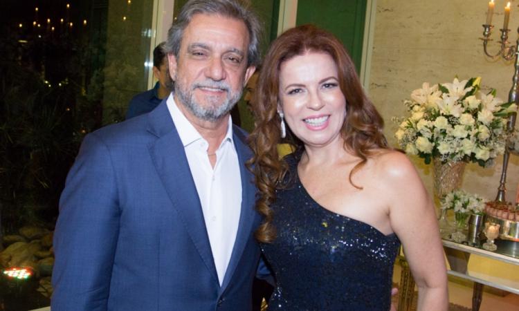 Ernesto Saboia e Cláudia Quental, belo casal!