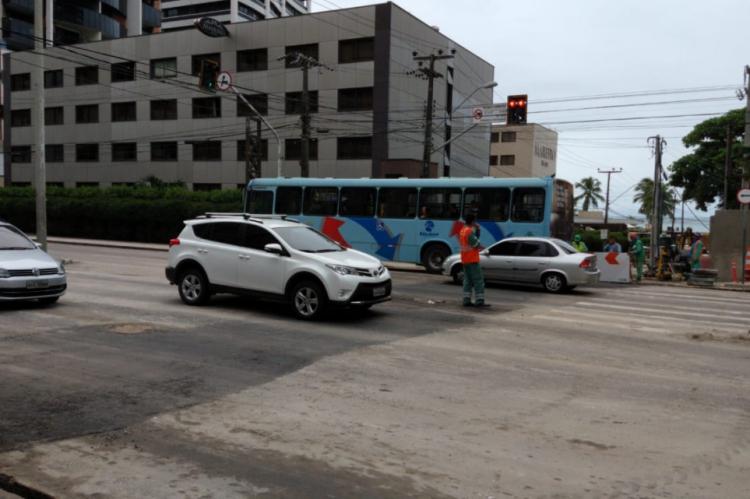Trânsito está liberado na avenida Abolição