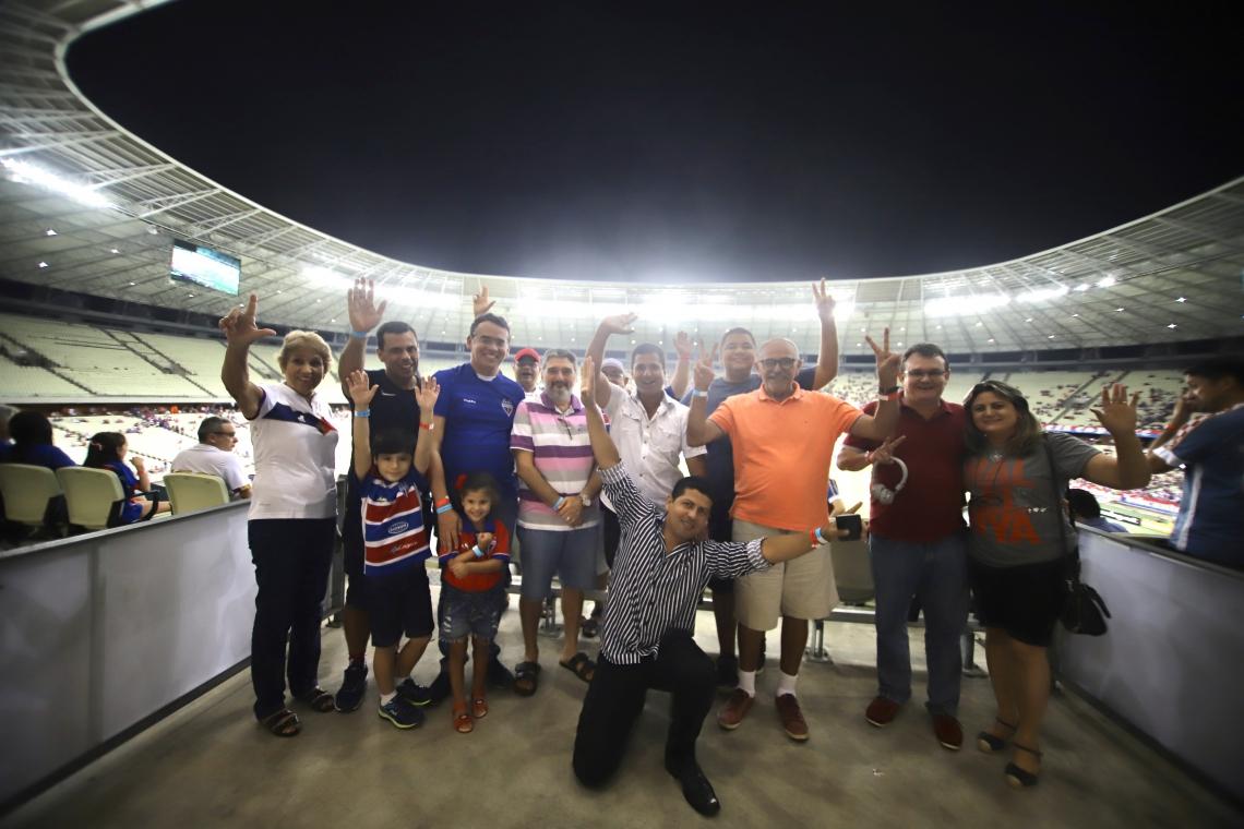 O POVO leva assinantes do jornal para acompanhar Fortaleza x Cruzeiro na Arena Castelão