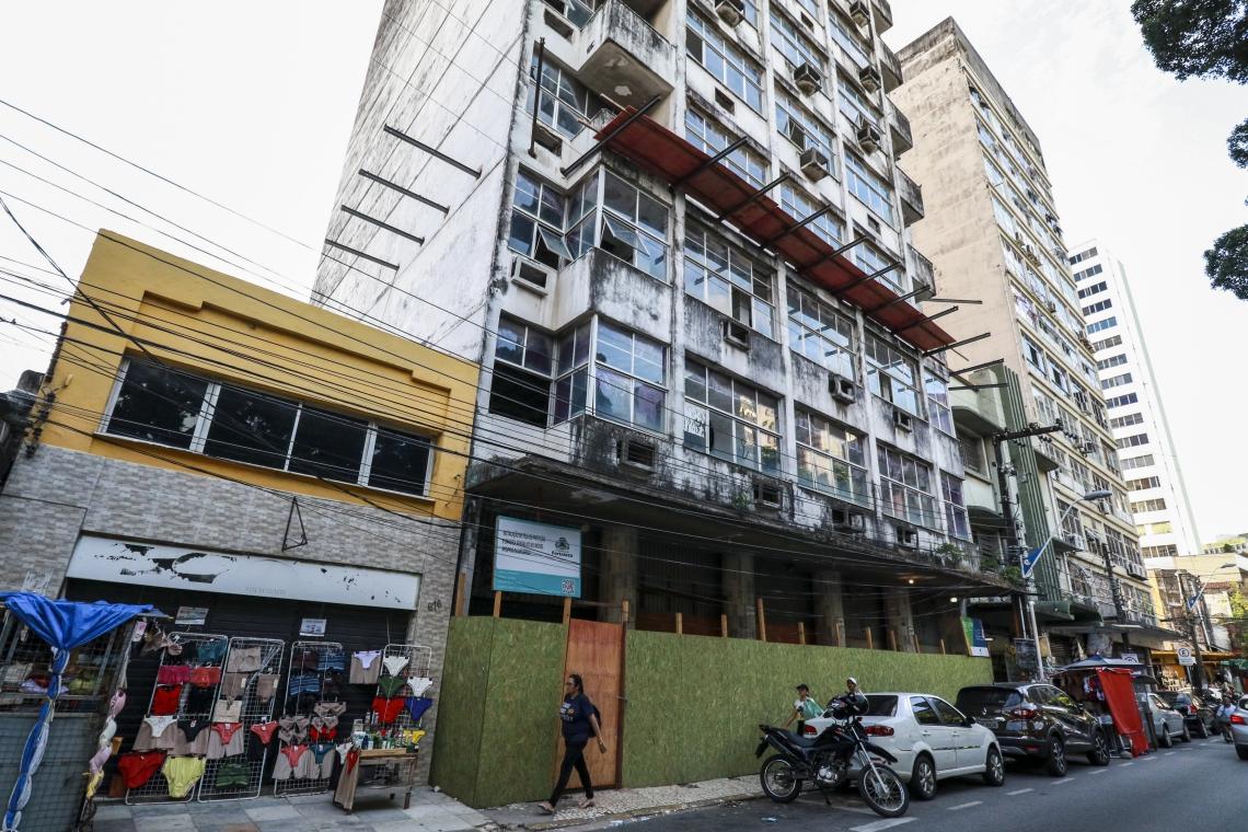 ANTIGO PRÉDIO da Dataprev, na rua General Bezerril, está entre os imóveis selecionados
