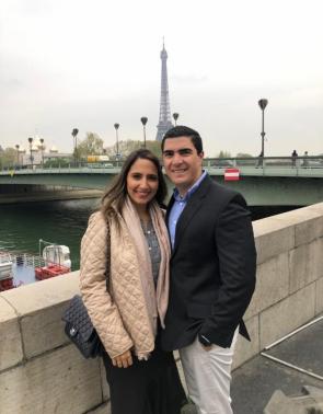 Nathália e Paulo Roberto Holanda