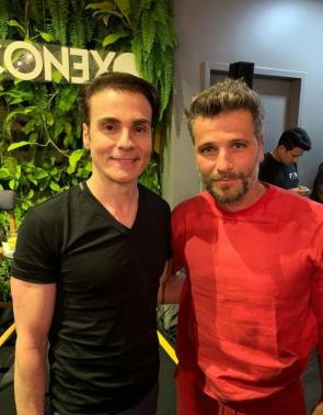 Rodrigo Maia e Bruno Gagliasso