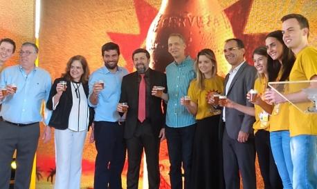Ambev lançou nesta quinta-feira, 13, a cerveja Legítima, produzida com mandioca da Chapada do Araripe.