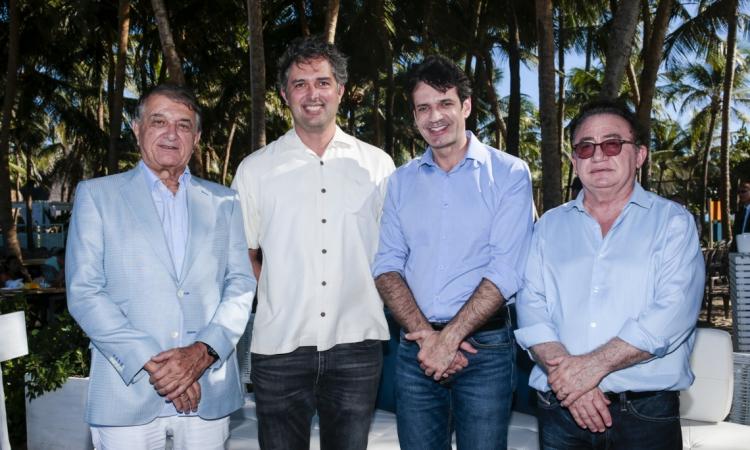 Arialdo Pinho, Murilo Pascoal, Marcelo Álvaro Antônio e Manoel Linhares